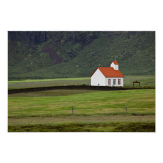 Lutheran Church, Iceland Poster