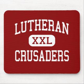 Lutheran - Crusaders - High - Mayer Minnesota Mouse Pads