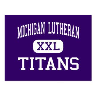 Lutheran de Michigan - titanes - alto - San José Postales