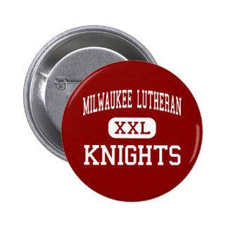 Lutheran de Milwaukee - caballeros - alto - Milwau Pins