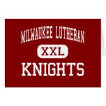 Lutheran de Milwaukee - caballeros - alto - Milwau Felicitacion