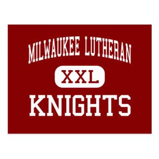 Lutheran de Milwaukee - caballeros - alto - Milwau Postales