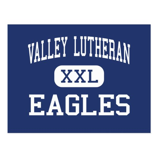 Lutheran del valle - Eagles - alto - Phoenix Postales