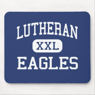 Lutheran - Eagles - High - Little Rock Arkansas Mouse Pads