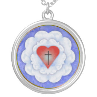 Lutheran rose necklace
