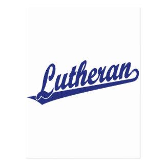 Lutheran Scipt Logo Postcard