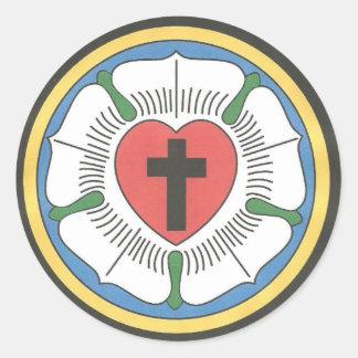 Lutheran Seal Classic Round Sticker