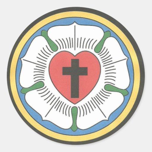 Lutheran Symbols Lutheran seal sticker