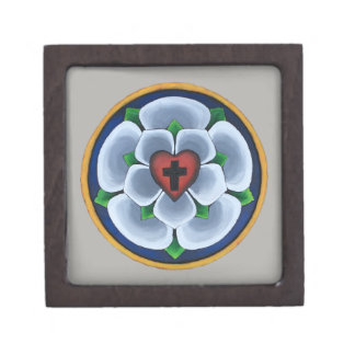 Luther's Rose Christian Seal gift box