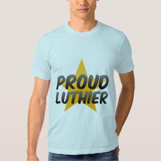 Luthier orgulloso playeras