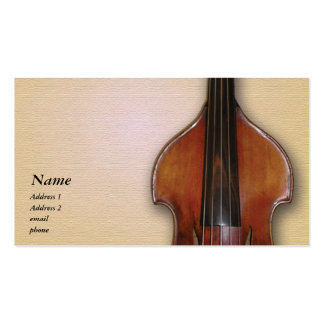 Lutier or Music Lover Business Card