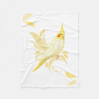 Lutino Cockatiel Blanket