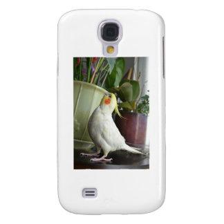 Lutino Cockatiel Galaxy S4 Cover