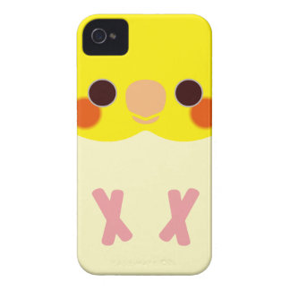 Lutino Cockatiel iPhone 4 Case-Mate Case