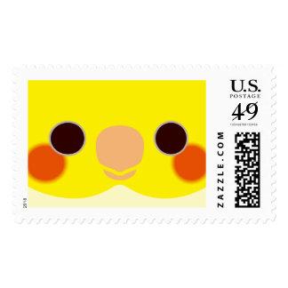 Lutino Cockatiel Stamps