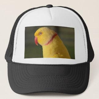 Lutino Indian Ringneck Parakeet Eye Trucker Hat