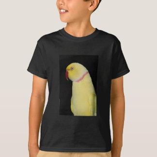 Lutino Indian Ringneck Parakeet Pose T-Shirt