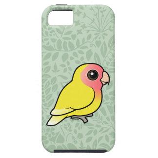 Lutino Melocotón-hizo frente al Lovebird iPhone 5 Carcasa