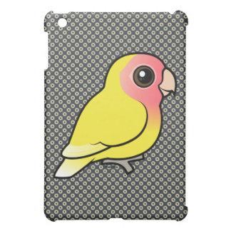 Lutino Melocotón-hizo frente al Lovebird iPad Mini Cárcasa