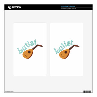 Lutist Decal For Kindle Fire