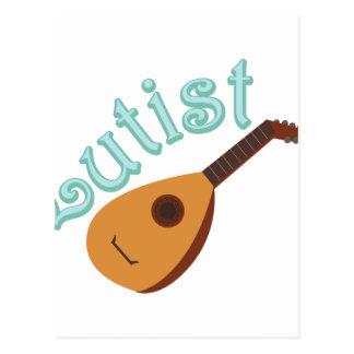 Lutist Postcard