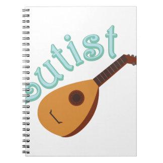 Lutist Spiral Notebook