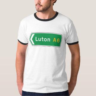 Luton, señal de tráfico BRITÁNICA Playera