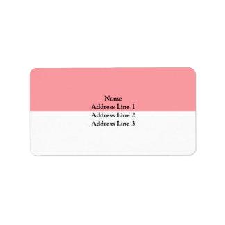 Lutry, Switzerland Address Label