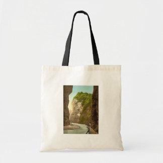 Lutschinen, Aare Ravine, III, Bernese Oberland, Sw Canvas Bag