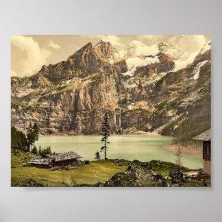 Lutschinen, Oeschinensee, Bernese Oberland, Switze Posters