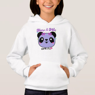 LUV4Pandas SHare-A-SMile Girls' Hoodie