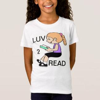 LUV 2 READ T-Shirt