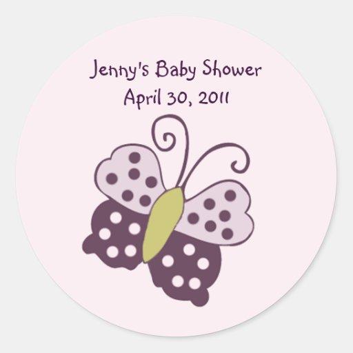 Luv Bug/Ladybug/Butterfly Sticker/Label/Seal