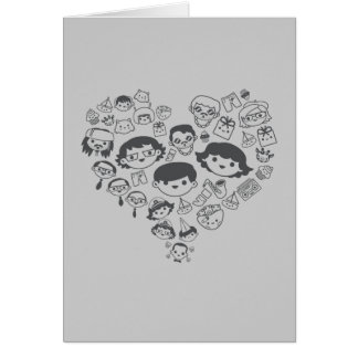 Luv Greeting Card