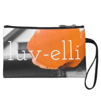 """""""Luv-elli"""" custom clutch"""