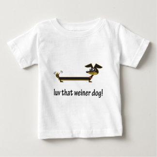 Luv ese perro de Weiner Playeras