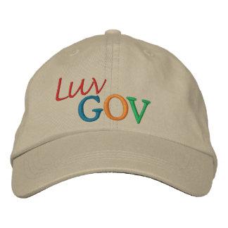 Luv Gov Embroidered Baseball Caps