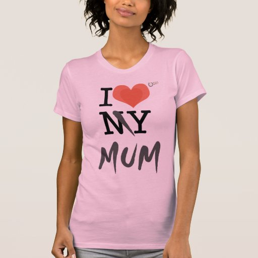 Luv I mi momia V Camiseta