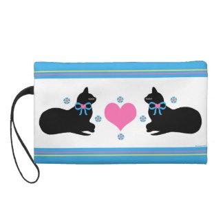 Luv Kitties Wristlet