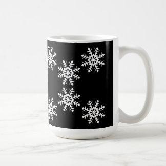 Luv Luv Snowflakes Christmas Mug