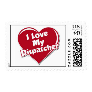 Luv my dispatcher stamp