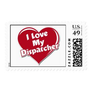 Luv my dispatcher stamp