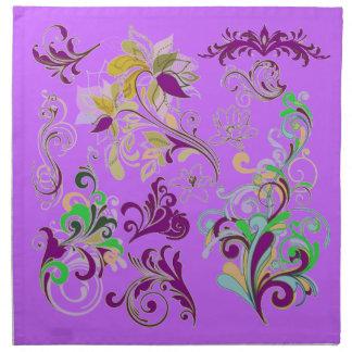 Luv 'n' Purple MoJo Napkins