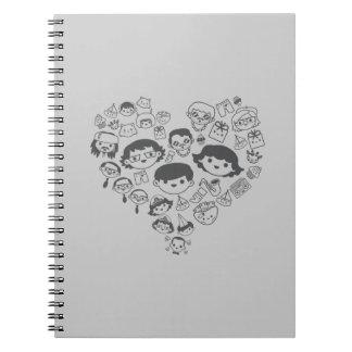 Luv Spiral Notebook