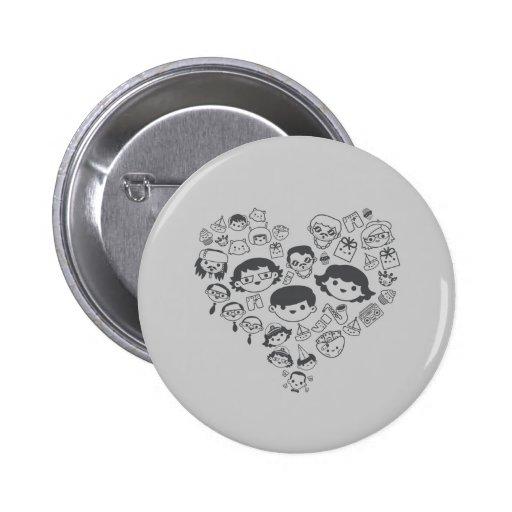 Luv Pinback Button