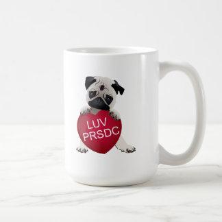 LUV PRSDC Pug Rescue of San Diego Co. Valentines Mugs