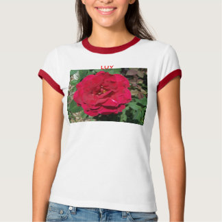 LUV, Red Rose T-Shirt