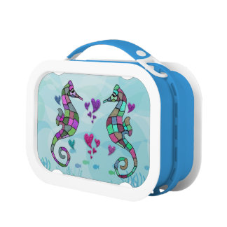 Luv Seahorses Lunch Boxes