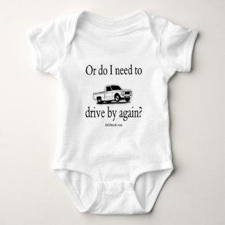 Luv Truck Logo Merchandise Baby Bodysuit