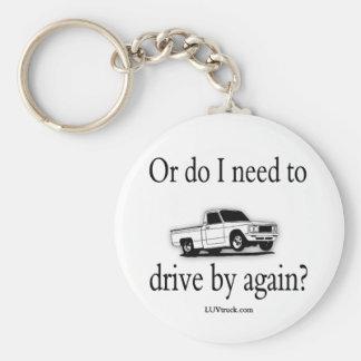 Luv Truck Logo Merchandise Basic Round Button Keychain